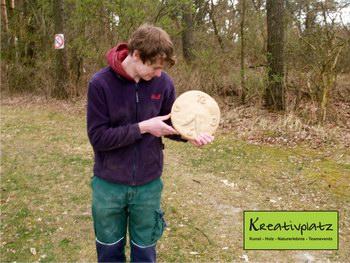 handwerkliches Bearbeiten von Holz