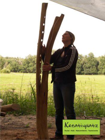 2 Tage Kunst in Holz