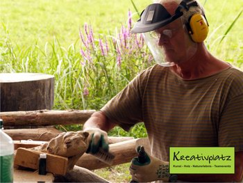 Kurs - kreatives Arbeiten mit Holz