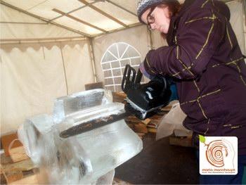 Eisschnitzen, Bildhauerkurse, ICECARVING