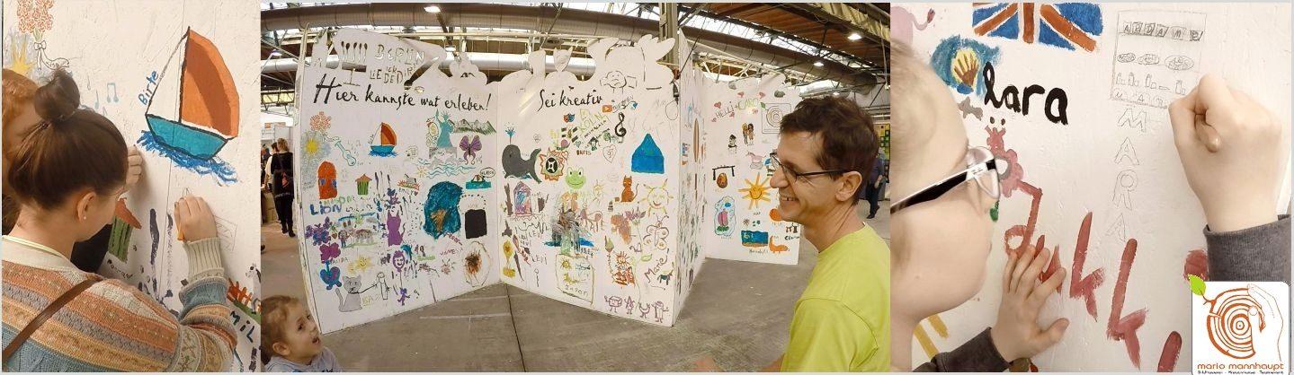 Kreative Mitmachangebote für goße Veranstaltungen