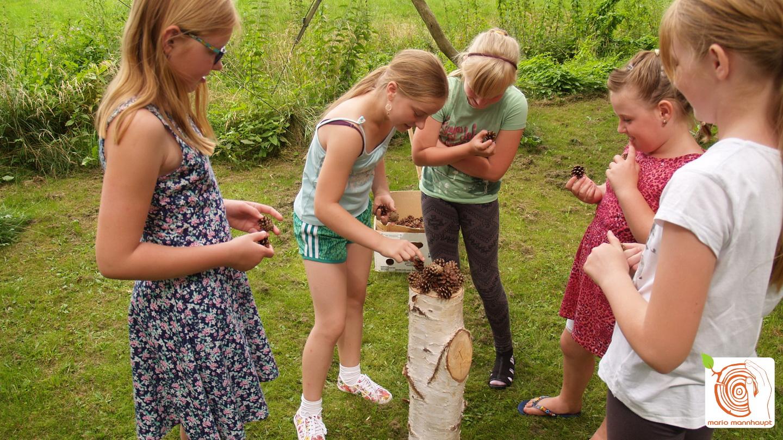kreativer Kindergeburtstag in Kolzenburg