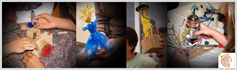 Recycling & Upcycling - Kunst zum Mitmachen