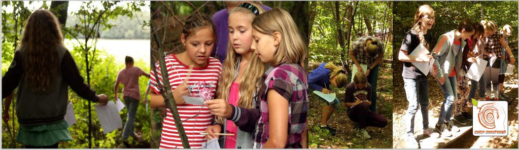 Naturerlebnis als Walddetektiv auf dem Kreativplatz Luckenwalde