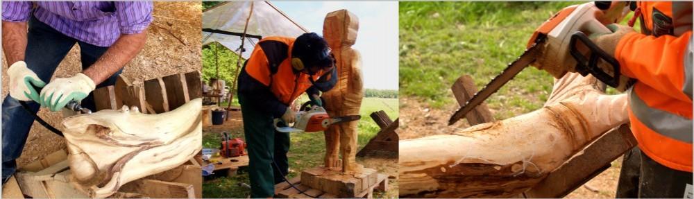 K2 - Bildhauerkurse mit Kettensäge