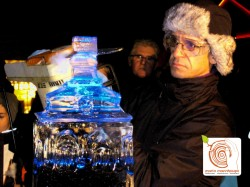Ice Carving live by mario mannhaupt