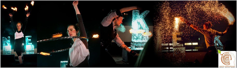 Erlebe die Feuer Tanz Show bei Mario Mannhaupt!
