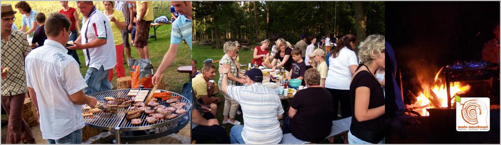 Sommer und Abschlussfest mit der Schulklasse in Kolzenburg