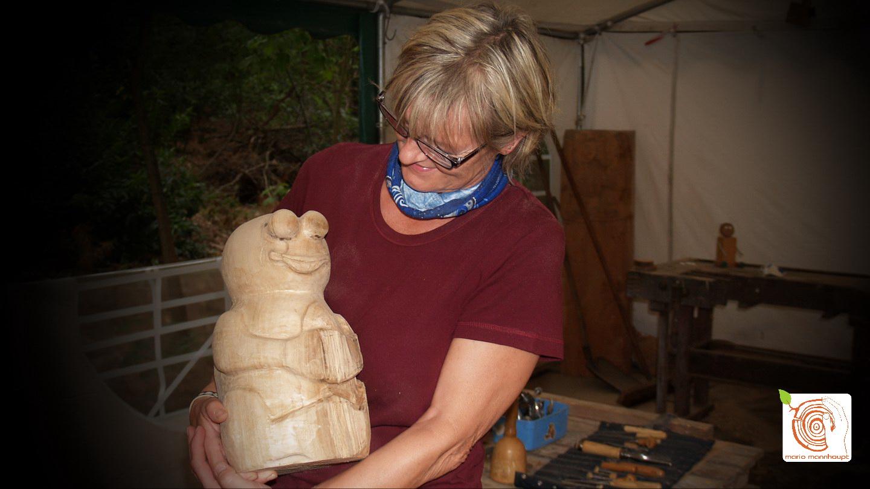 Workshop - Bildhauerei mit Holz