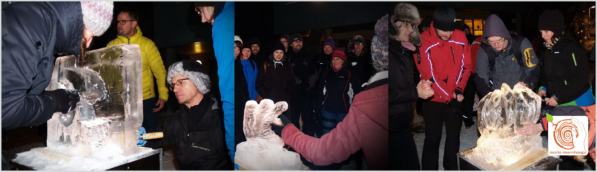 Ice carving -Teamevents by Mario Mannhaupt