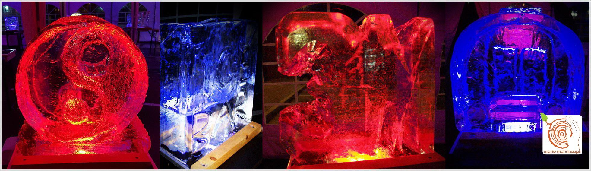 Firmenevent -Skulpturen aus Eis selber anfertigen