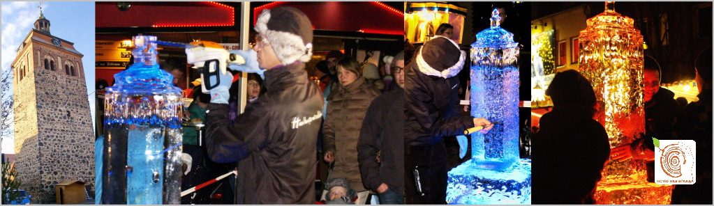 Eis Kunst - Rahmenprogram und Live Show