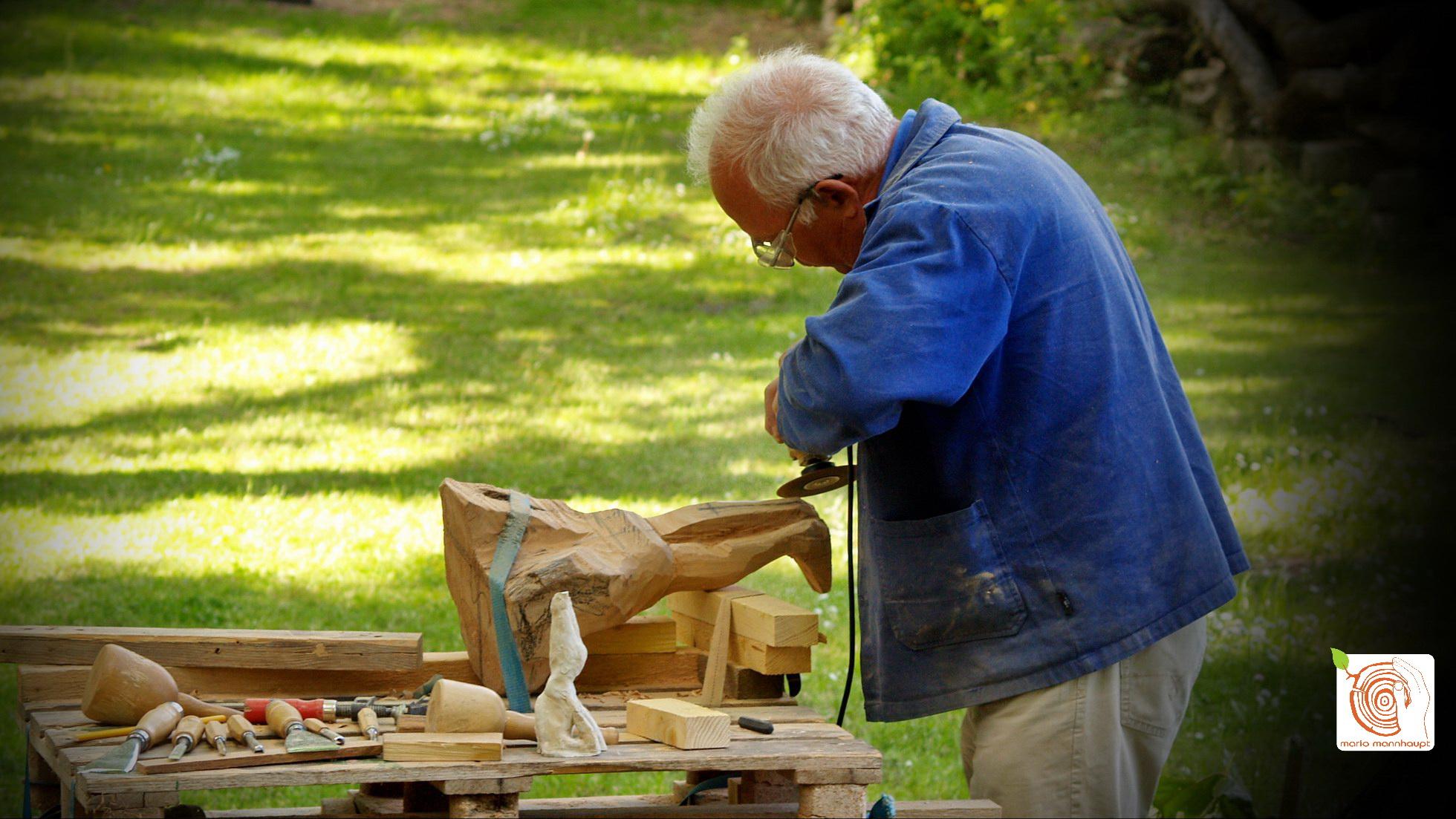 Holz Seminar in den Sommerferien