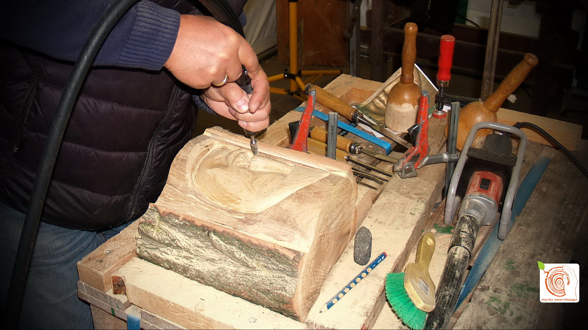 Holz - Relief selber machen