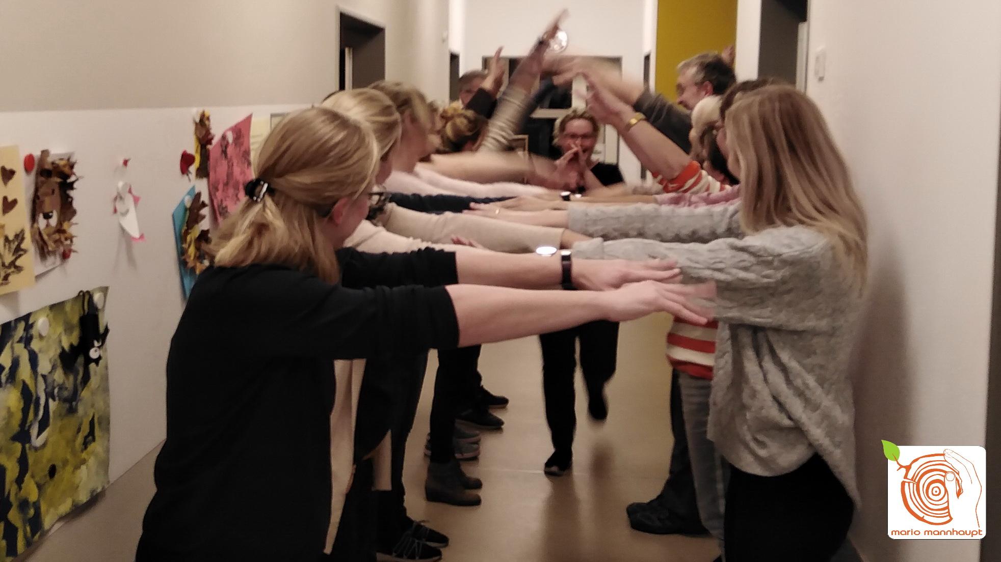 kreatives Teamevent für Teamweiterbildung in Kita
