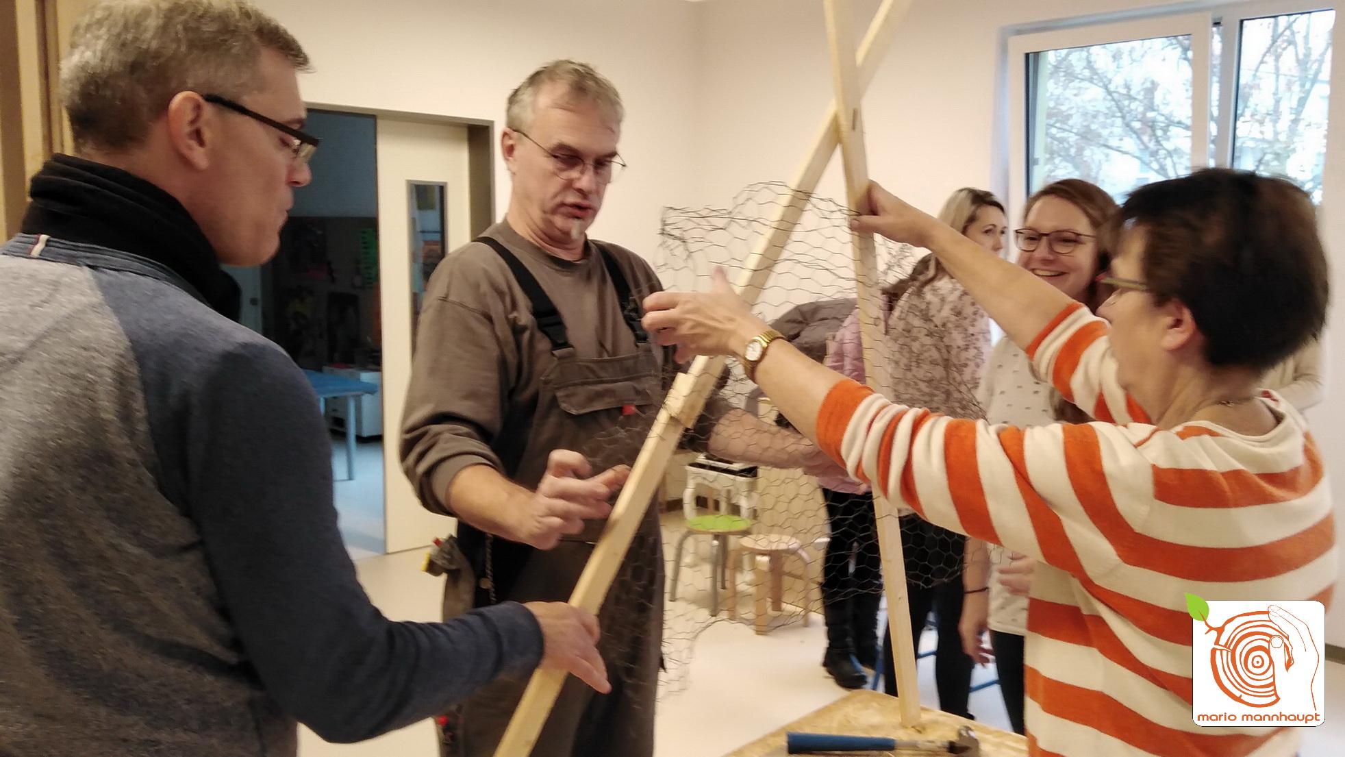 Teambuilding in der Kita Ideenreich in Ludwigsfelde