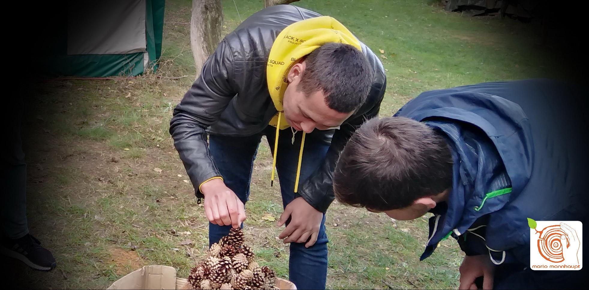 Teamarbeit auf dem Kreativplatz Luckenwalde