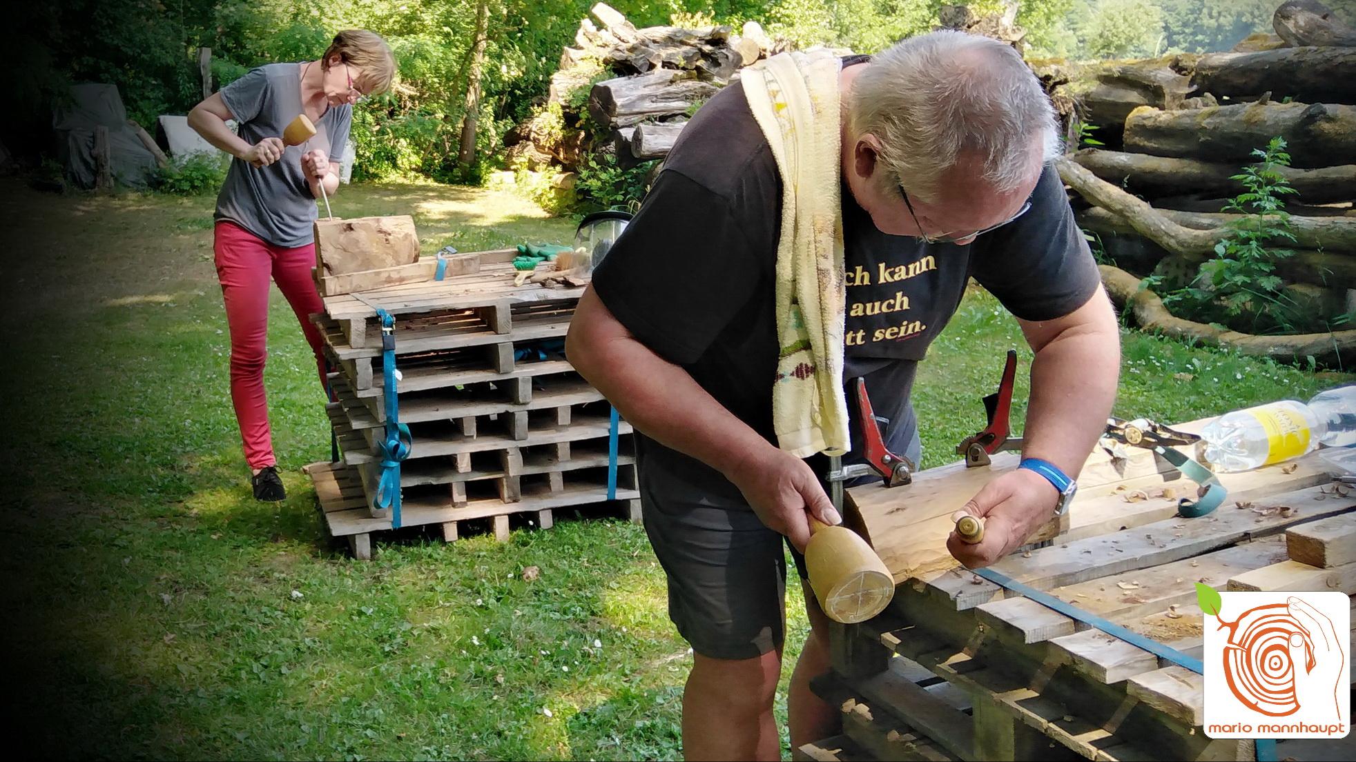 kreative Kurse und Workshop in der Bildhauerei von Mario Mannhaupt