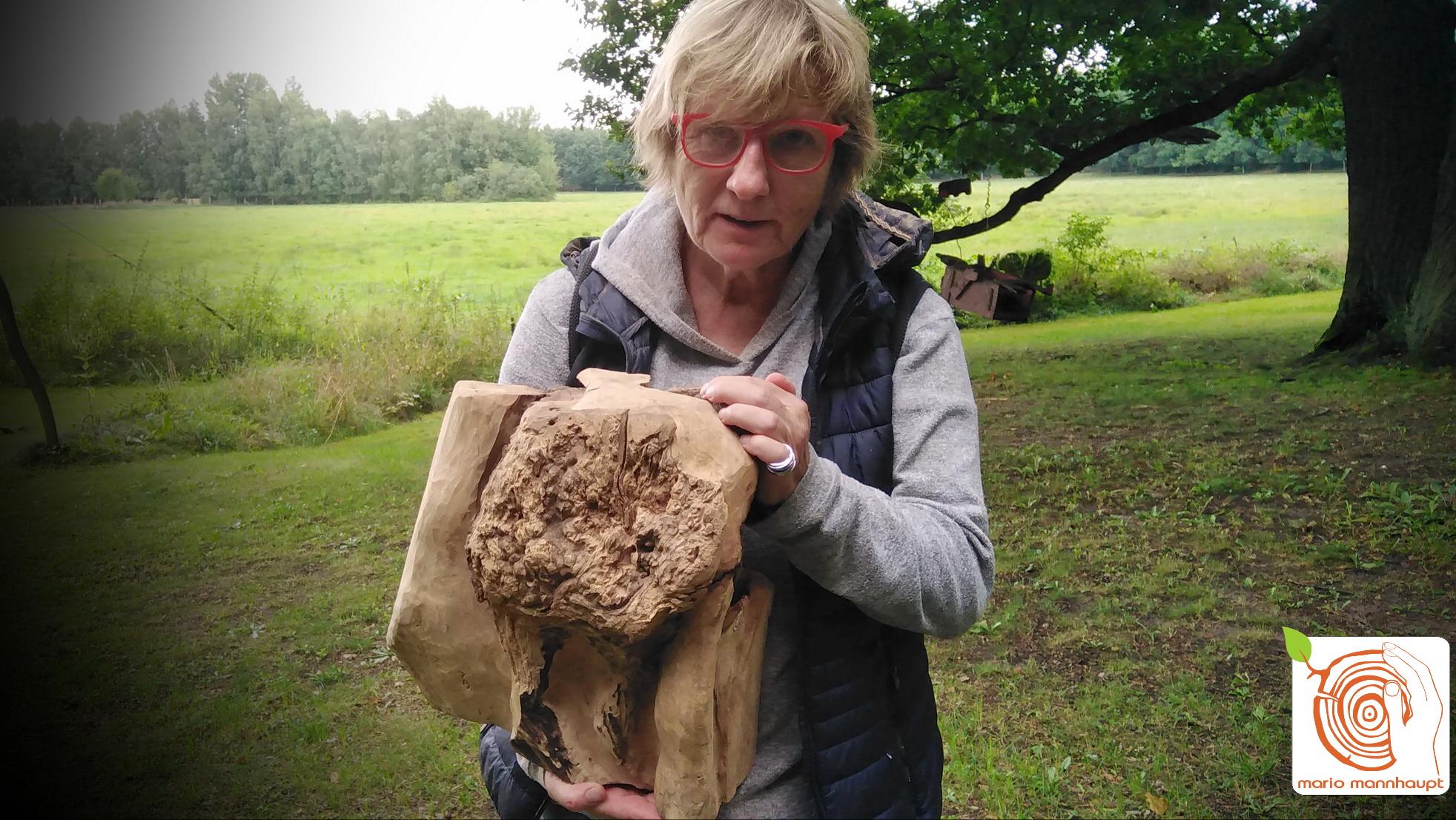 Ein neues Hobby ausprobieren! Holzbildhauerei bei Mario Mannhaupt erlernen.