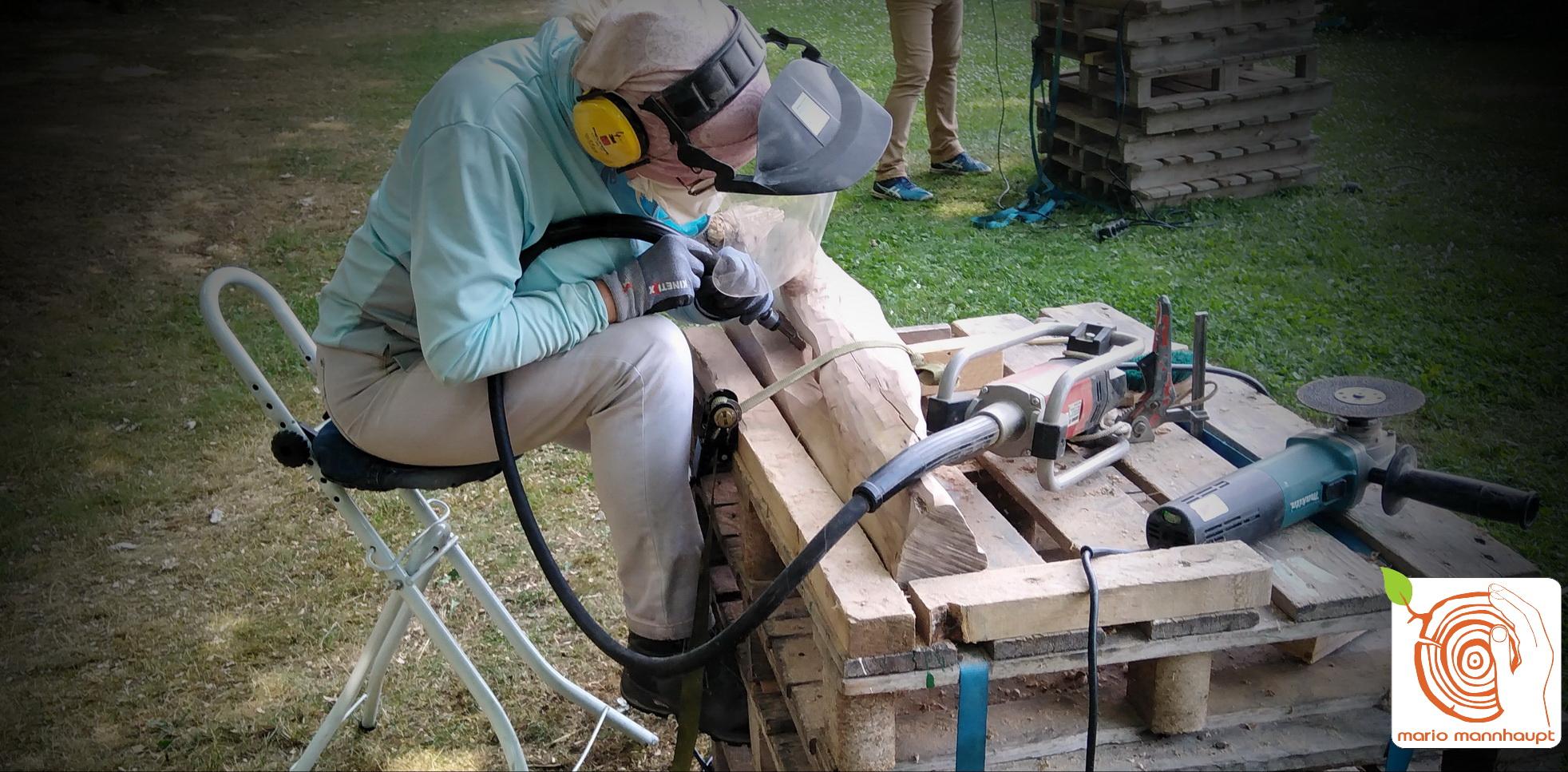 Holzbildhauerkurs mit und ohne Maschineneinsatz