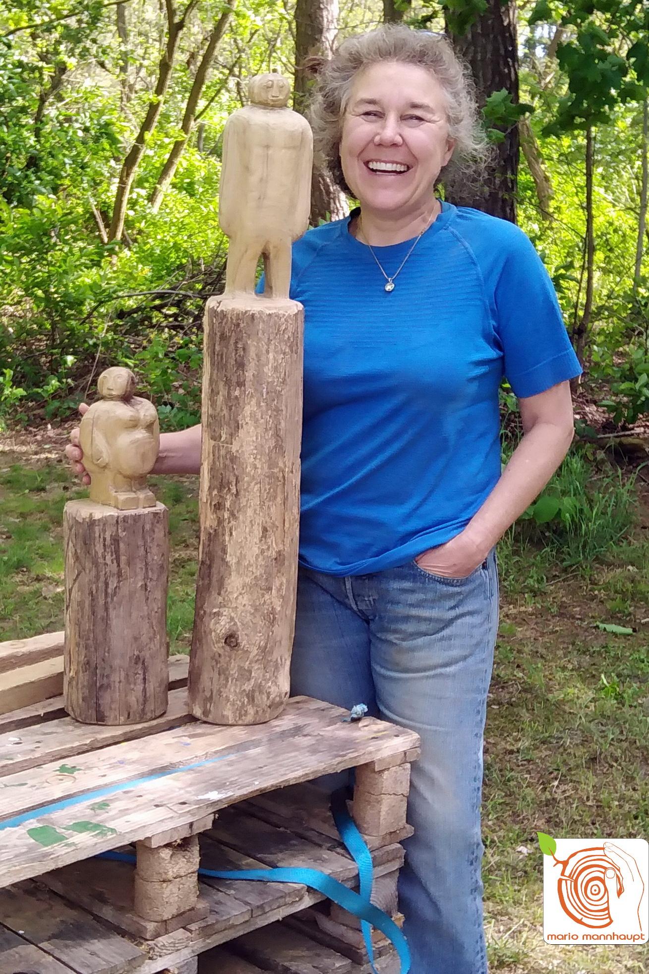 Freizeitangebot: künstlerische Holzbearbeitung in Luckenwalde