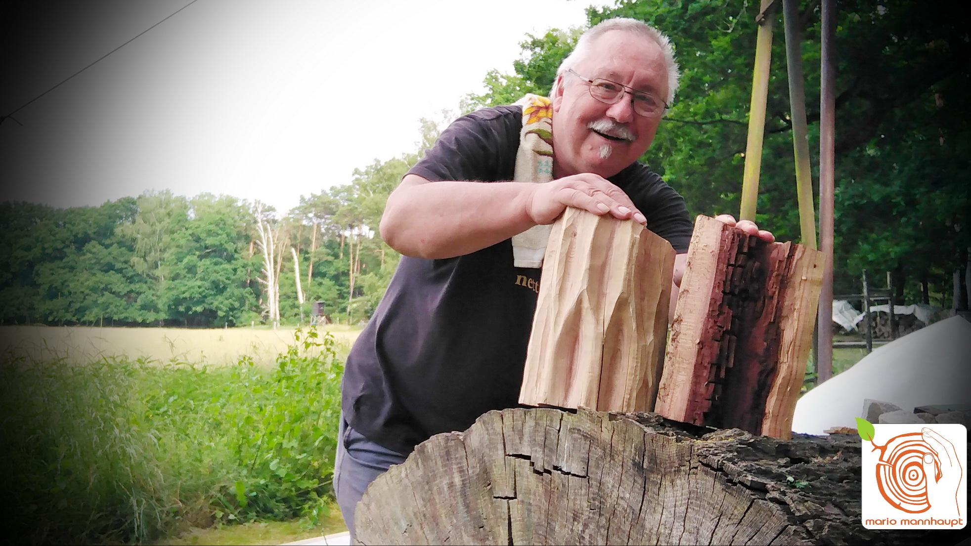 Ein Holzbildhauerkurs zum verschenken und zum selber erleben!